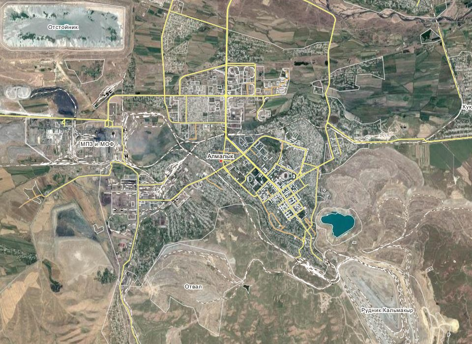 Народная карта Алмалыка