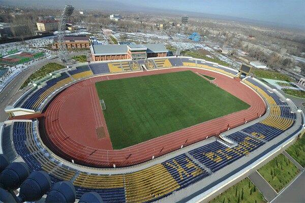Новый стадион Алмалыка