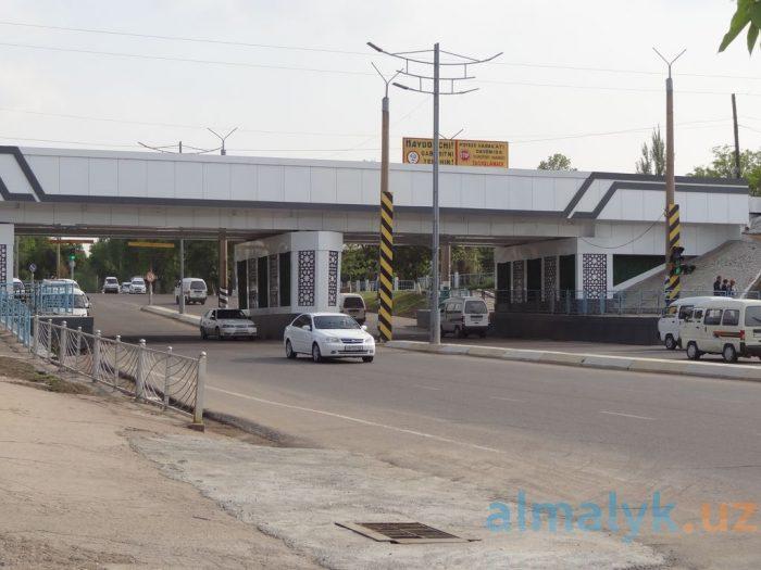 Мост на старой автостанции